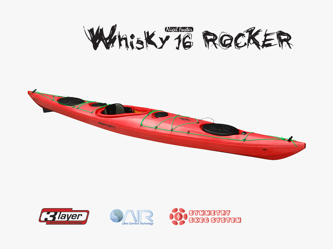 seekajak whisky 16 rocker
